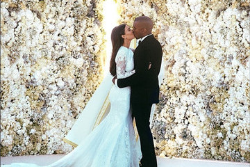Kanye and Kim's Wedding Wasn't Completely Perfect But He's Okay With That Now