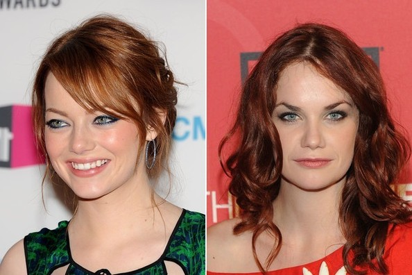 Ruth Wilson and emma stone