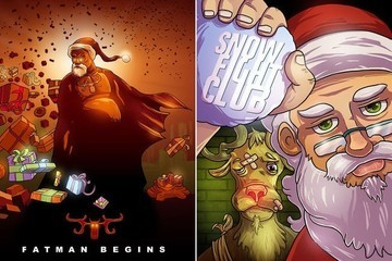 This Is What Happens When Santa Claus Goes Hollywood
