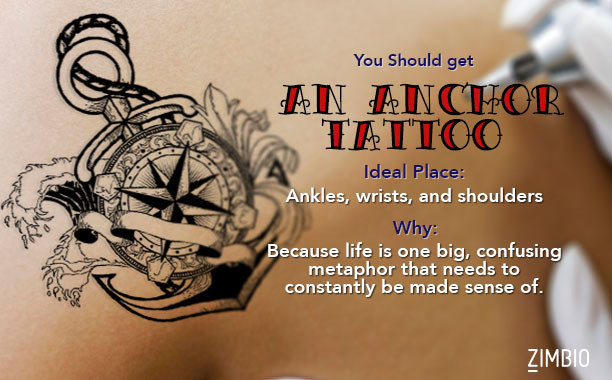 Which cliche tattoo should you get quiz zimbio for Should you get a tattoo