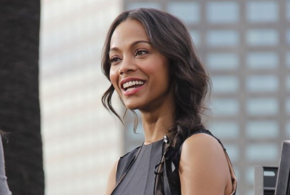 Zoe Saldana Packs a Punch in an LBD With 1 Simple Trick