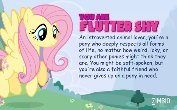 I am Fluttershy!