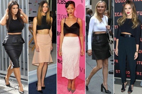 The Celebrity Crop-Top Showdown, Vote Here!
