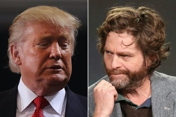 Zach Galifianakis Says Donald Trump Is Too 'Challenged' to Appear on His Talk Show 'Between Two Ferns'