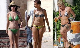 Celebrity Bikini Battle - Pop Princesses