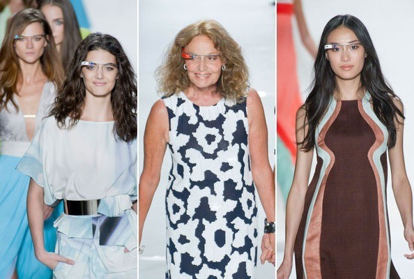 What The Heck Are Those Things The Models Were Wearing at DVF?
