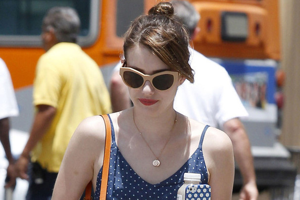 Emma Roberts Wore a Flowy Romper, and It's Much Cuter Than It Sounds