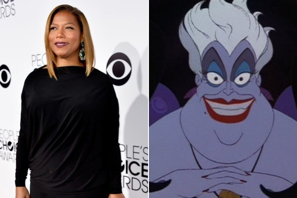 Queen Latifah + 'The Little Mermaid'