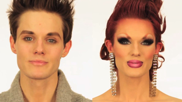 Watch Ivy Winters' Amazing Before-and-After Drag Queen Transformation [VIDEO]