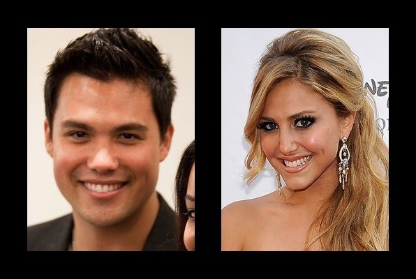 Michael Copon was rumored to be with Cassie Scerbo