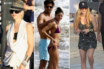 Stars Hit the Beach in St. Barts