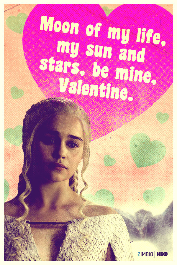 Give These Throwback Valentines To The U0027Game Of Thronesu0027 Fan In Your Life