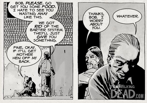 How does shane die in the walking dead comics — pic 2