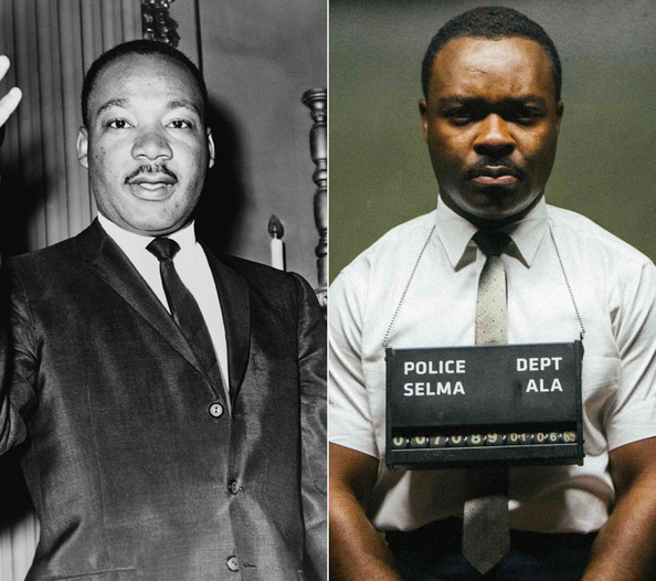 Martin Luther King Jr David Oyelowo Selma Actors Side By