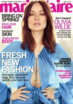 "Olivia Wilde on Jason Sudeikis: &squot;I Thought, ""I&squot;m Not Beautiful Enough or His Type.""&squot;"