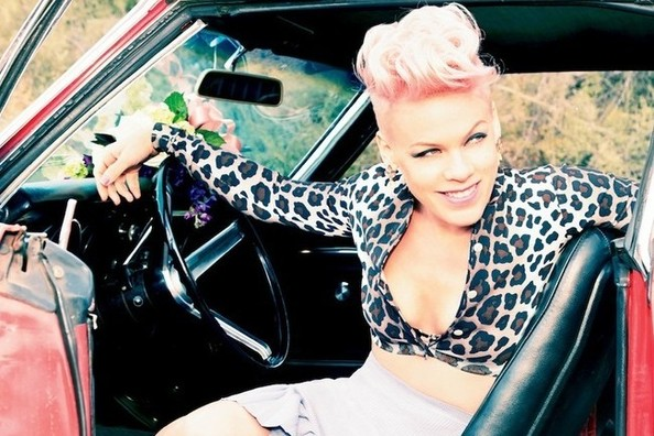 Pink Confesses: 'Joey Fatone Was in Love With Me.'