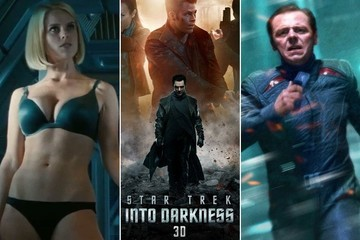 We Talked to 'Star Trek Into Darkness' Stars Simon Pegg & Alice Eve and They Freaking Rule