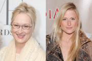 Meryl Streep and Mamie Gummer - Beautiful Celebrity Moms and Daughters