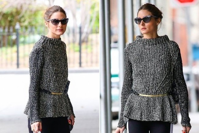 When in Doubt, Belt it (Thanks, Olivia Palermo)