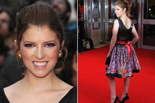 Anna Kendrick's Floral Moment