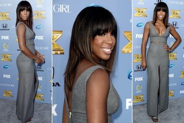 3 Reasons Why We're in LOVE With Kelly Rowland's Gorgeous Gray Outfit
