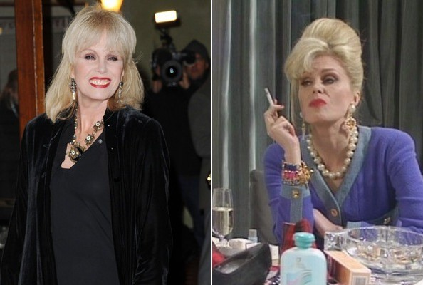 Joanna Lumley Is Patsy Stone IRL, Basically
