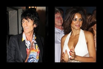 Ronnie Wood Dating History