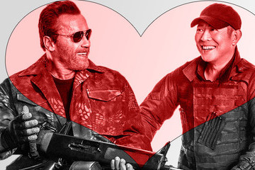 Arnold Schwarzenegger and Jet Li Are a Couple in 'Expendables 3'