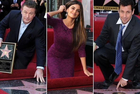 Hollywood Walk of Fame Honorees 2011
