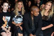 A History of Kanye West Zoning Out at Fashion Week