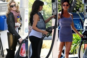 Celebs Getting Gas