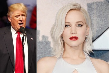 Jennifer Lawrence Once Tried to Curse Out Donald Trump on Camera