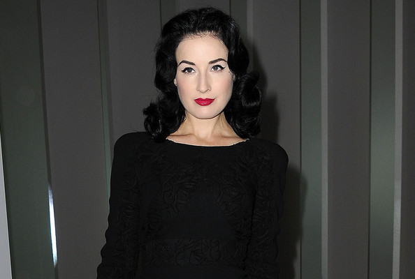 4493cb93844e The 5 Fashion Must-Haves of Dita Von Teese - Dita Von Teese - Celebrity  Guest Editor - Livingly