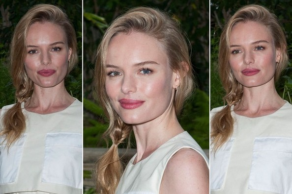 Hair Envy of the Day: Kate Bosworth's Side Ponytail