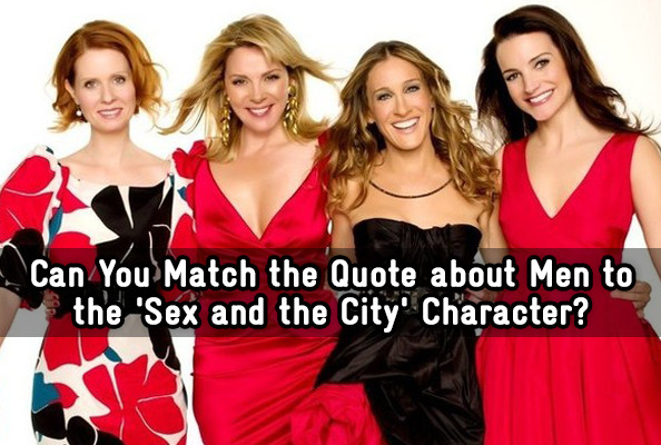 sex and the city quizes