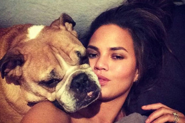 Chrissy Teigen Mourns The Death Of Her Beloved Dog Puddy With A Heartfelt Note On Instagram