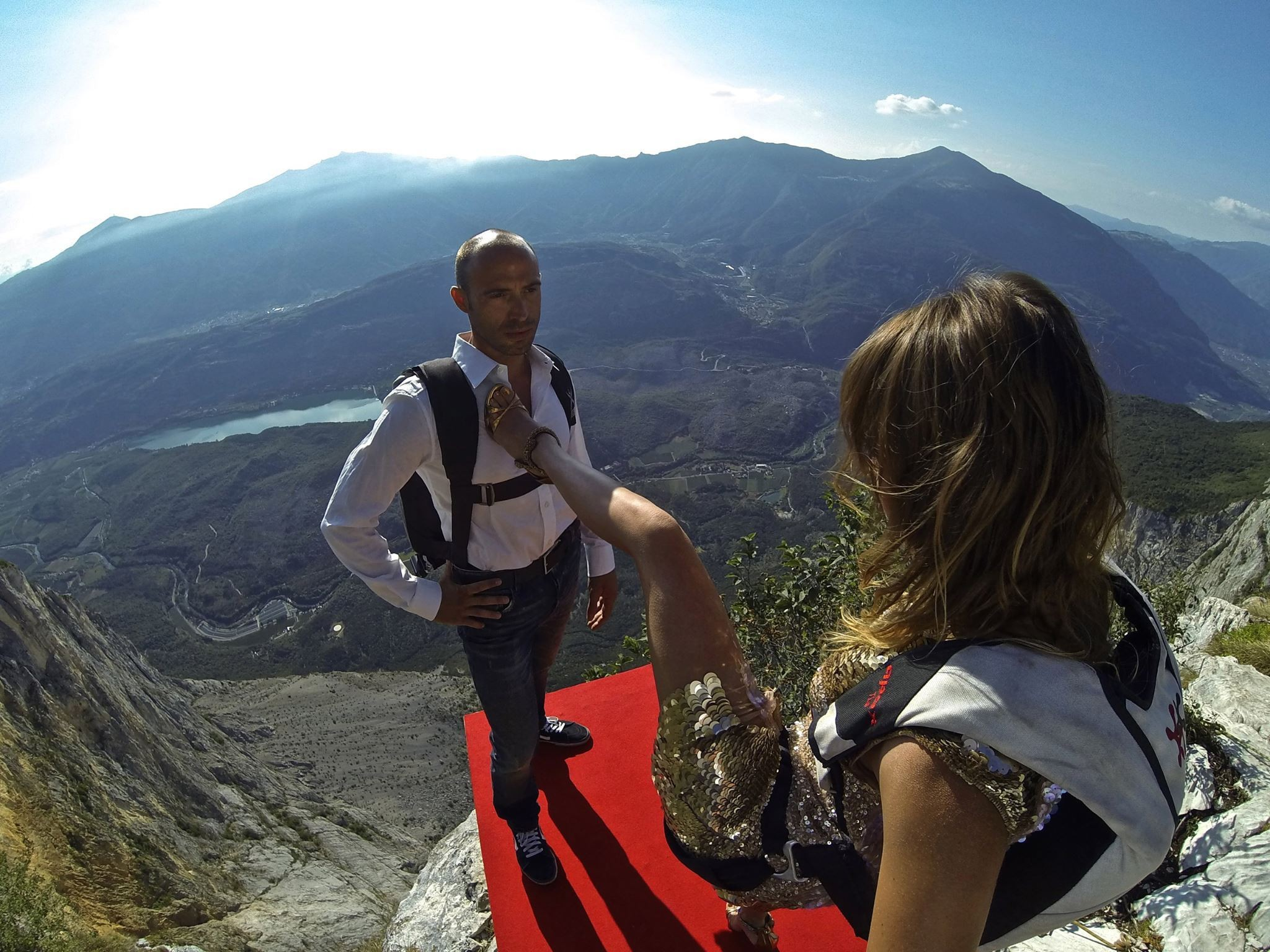 BASE Jumping in Style: Roberta Mancino & Roberto Cavalli Team Up