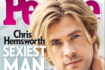 The 'People' Have Spoken: Chris Hemsworth Is the 'Sexiest Man Alive'