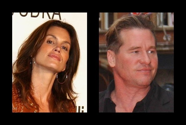 Cindy Crawford dated Val Kilmer