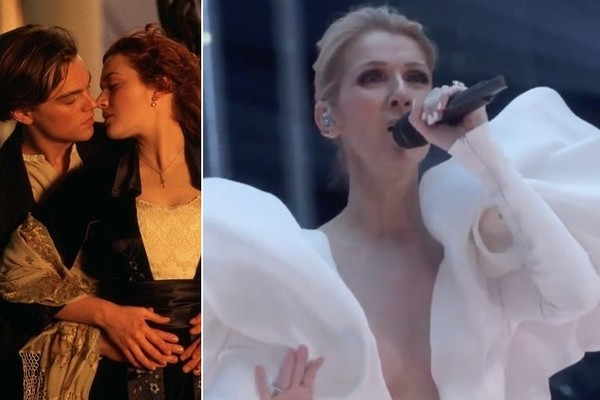 Celine Dion Performs 'Titanic' Hit