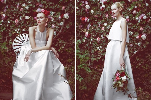 See every alexander wang for h m look toms is launching for Julian alexander wedding dresses