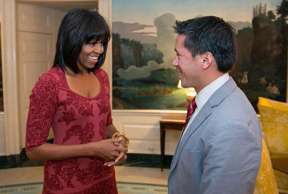 Michelle Obama's Bangs In Action, Topshop Does Dancing Nail Polish, and More!