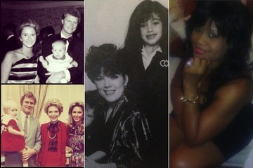 Celebrities Share Snaps of Their Moms on Mother's Day