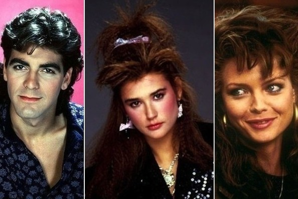 Celebrity Hairstyles from the '80s