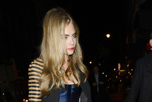 Cara Delevingne Spotted at Ex Harry Styles' Birthday Party