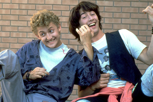 Bill & Ted Are Hilariously Awkward When You Take Away Their Air Guitar Sounds