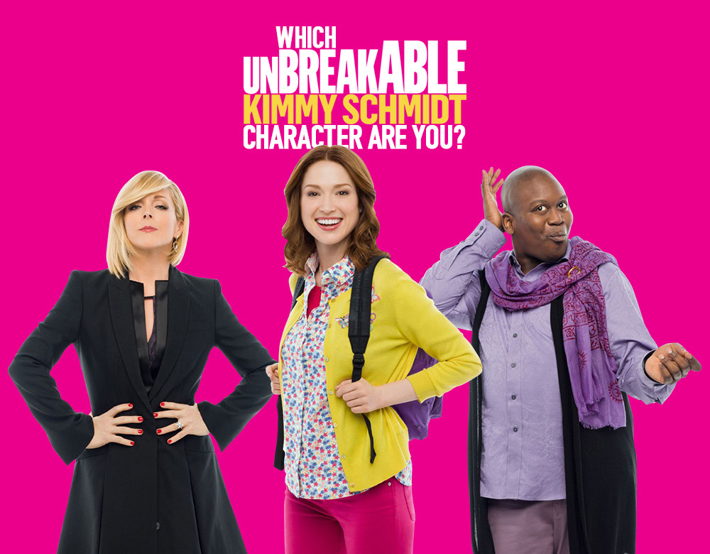Which unbreakable kimmy schmidt character are you quiz zimbio which unbreakable kimmy schmidt character are you voltagebd Choice Image