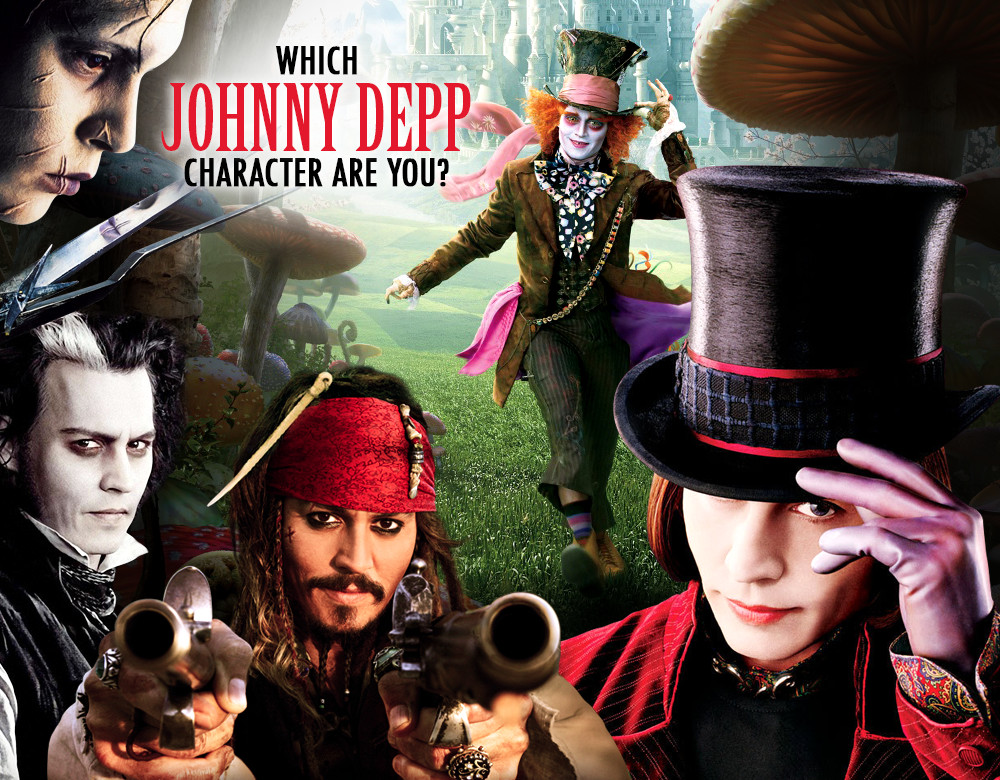 Which Johnny Depp Character Are You Quiz Zimbio