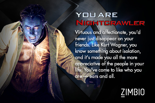 x men dating quiz Find out which x-men guy you would date by taking this quiz.