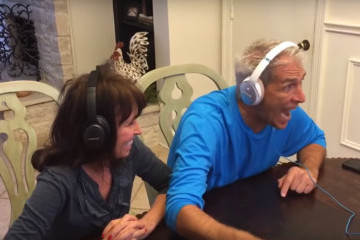 Cutest Dad Ever Completely Freaks out after Discovering He'll Be a Grandpa